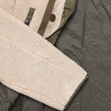 Boa N-3B Insulated Fleece Jacket - Beige / Olive