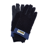 Wool Fleece Pile 5 finger - Navy