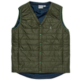 Packable Primaloft Vest - Olive