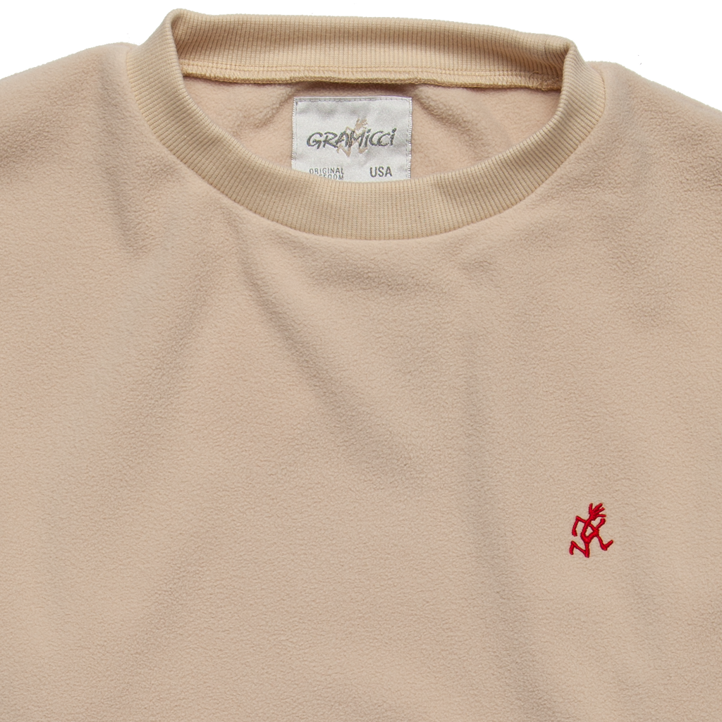 Boxy Fleece Crew Neck - Ivory