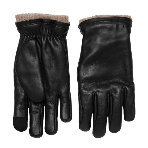 John Smartphone Sheepskin Glove - Black