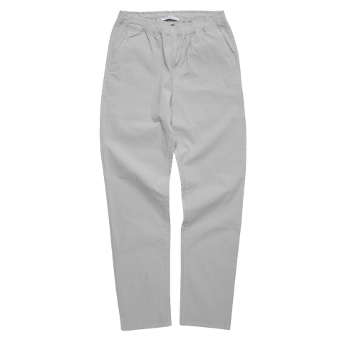 Slim Draw Pant - Light Grey Seersucker