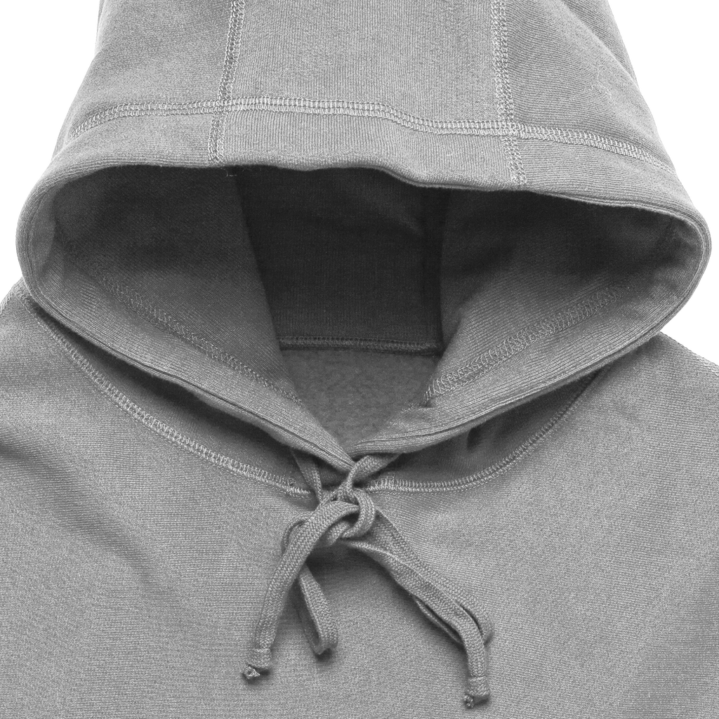 400GSM Heavyweight Hoody - Heather Grey