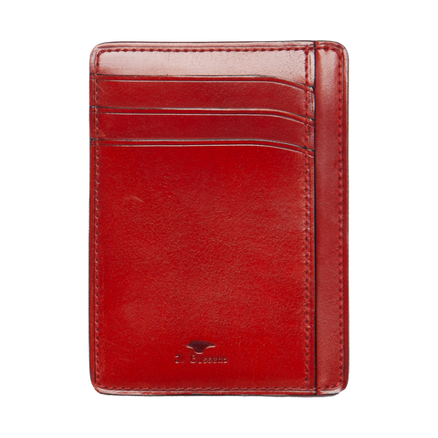 Card & Document Case - Tibetan Red