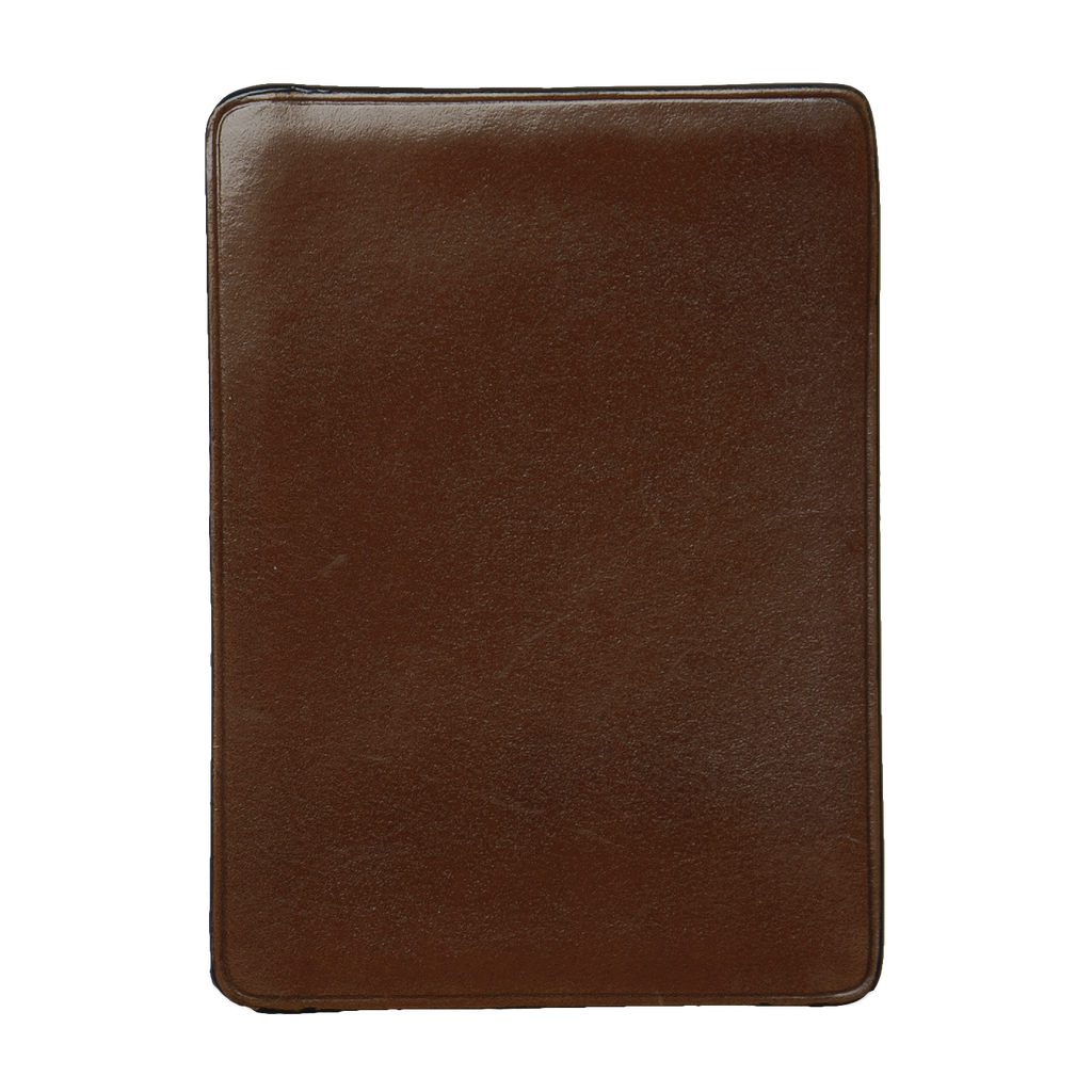 Card & Document Case - Dark Brown / Natural