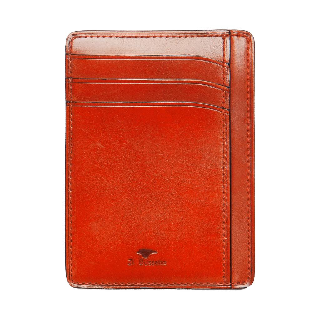 Card & Document Case - Coral Red