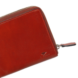 Isola Wallet - Coral Red