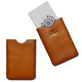 Business Card Holder - Light Brown