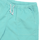 Formigal Beach Shorts - Aqua Green Baby Cord