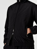 Miro Track Top Harrington - Black Ripstop
