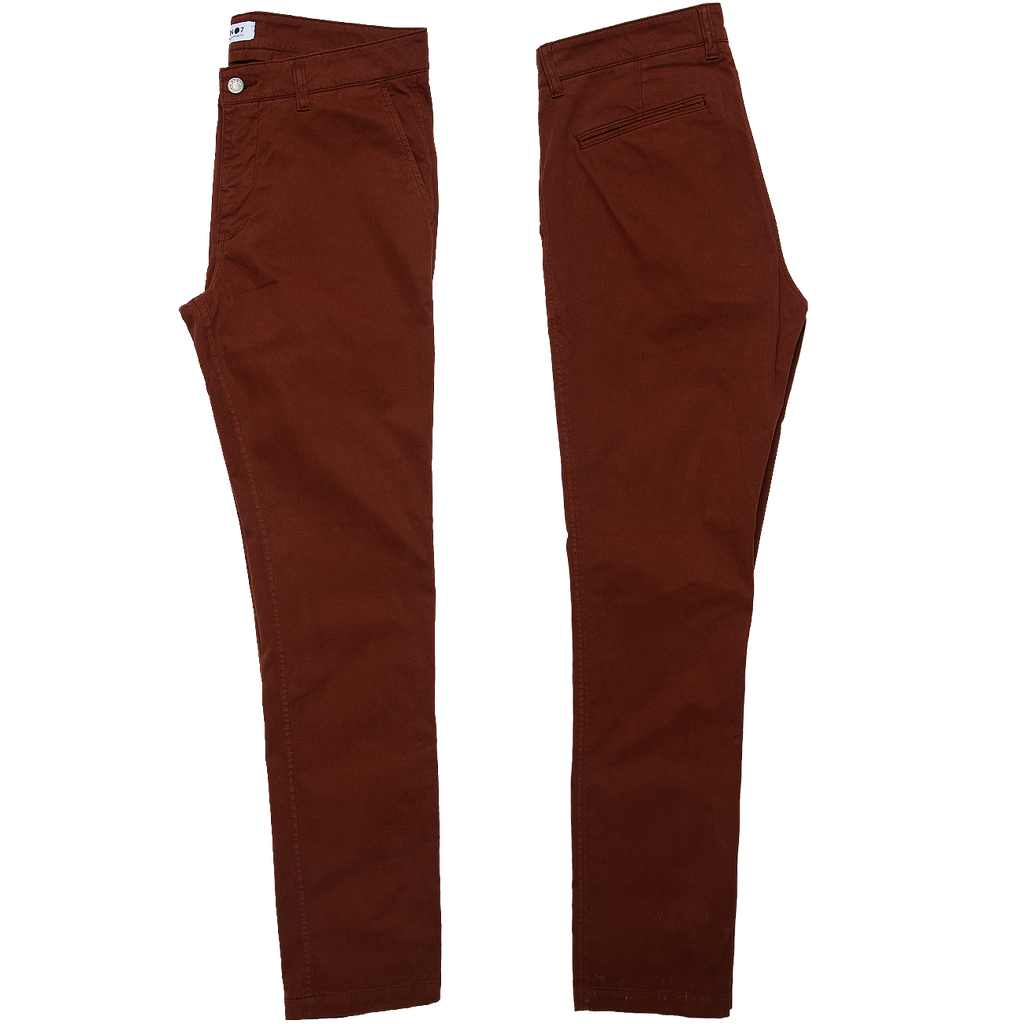 Marco Slim Fit Chino - Canela Brown