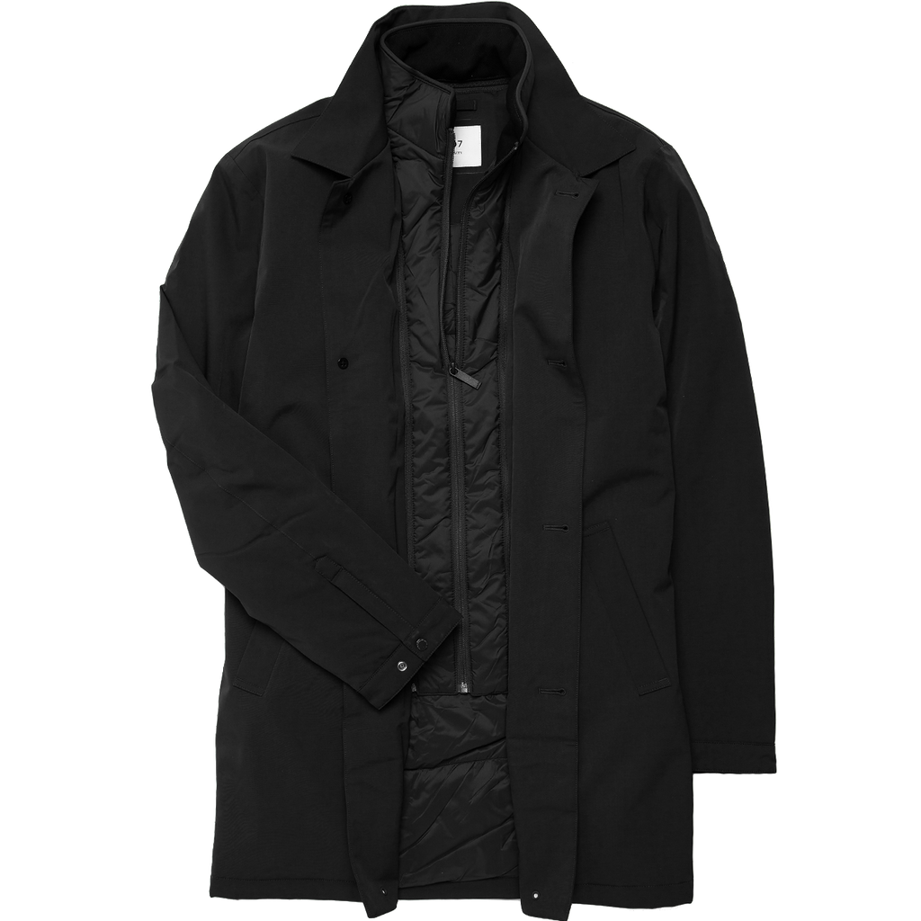 Blake Waterproof Primaloft Topcoat - Black