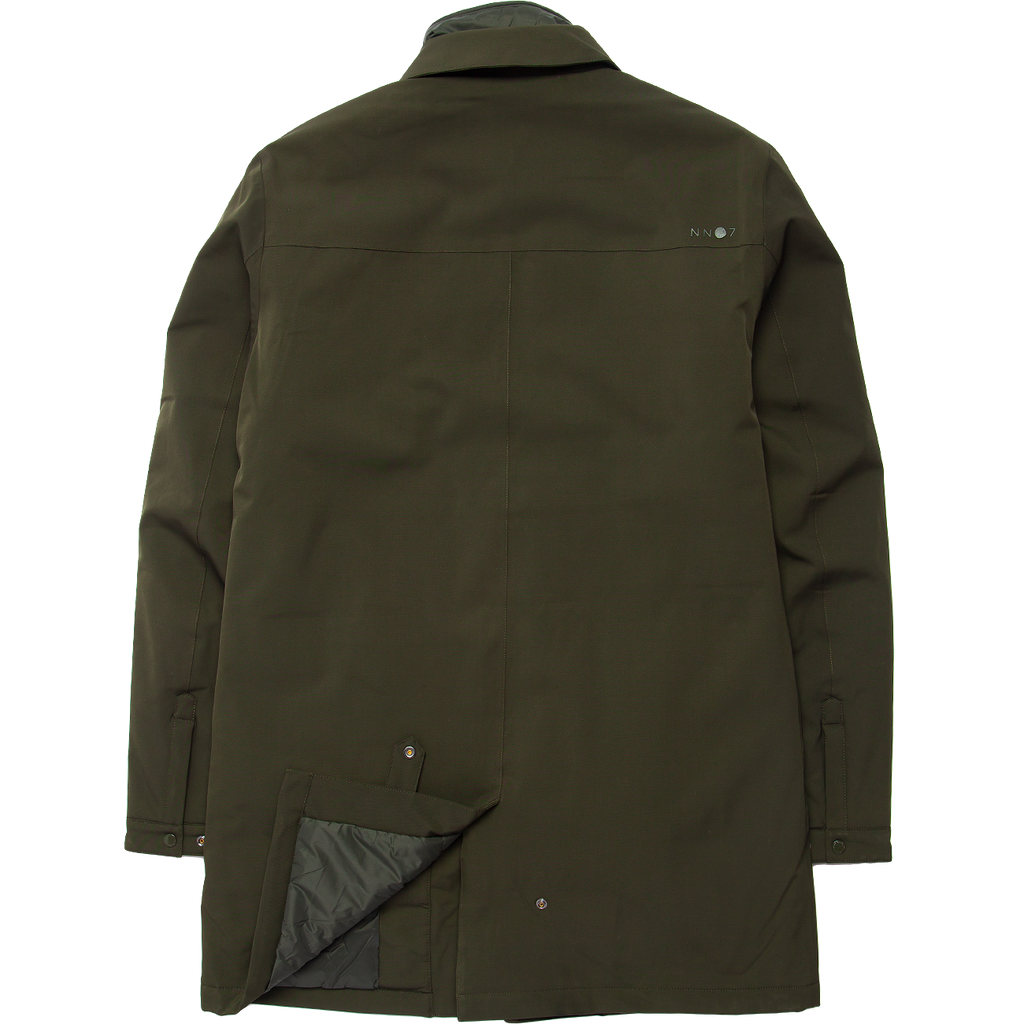 Blake Waterproof Primaloft Topcoat - Dark Army