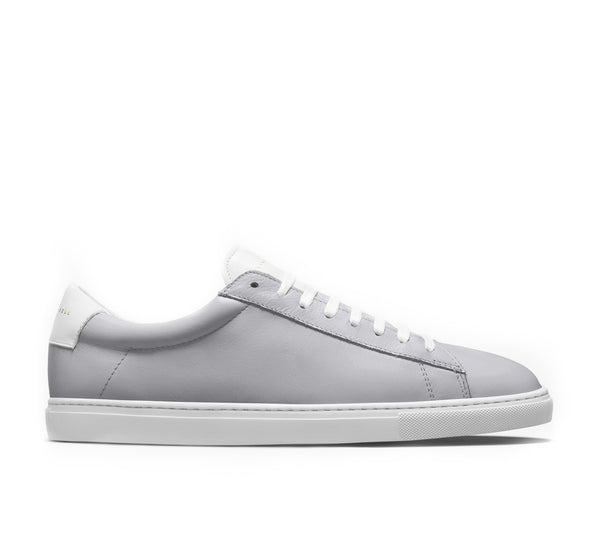 Low 1 Leather Sneaker - Alloy
