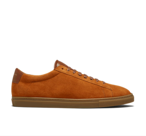Low 1 Leather Sneaker - Camel Split Suede