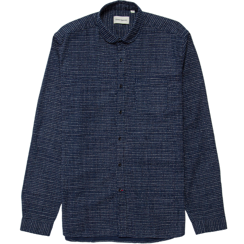 Eton Collar Shirt - Jonas Navy