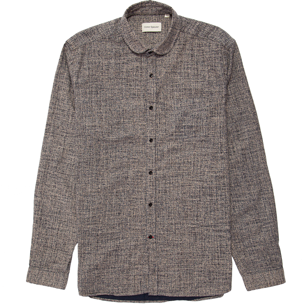 Eton Collar Shirt - Kearton Navy