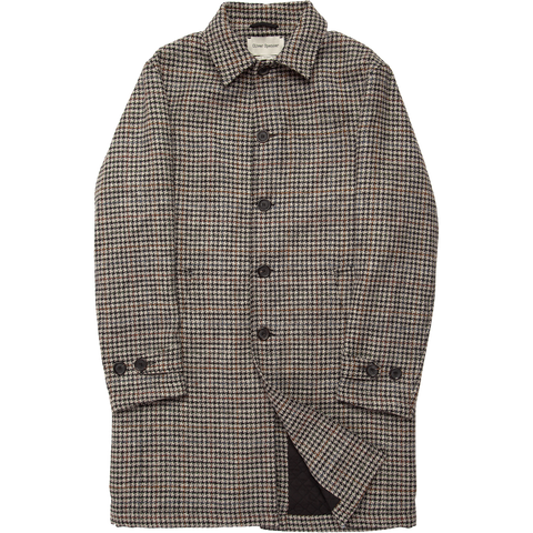 Wool Grandpa's Coat - Wickham Oatmeal