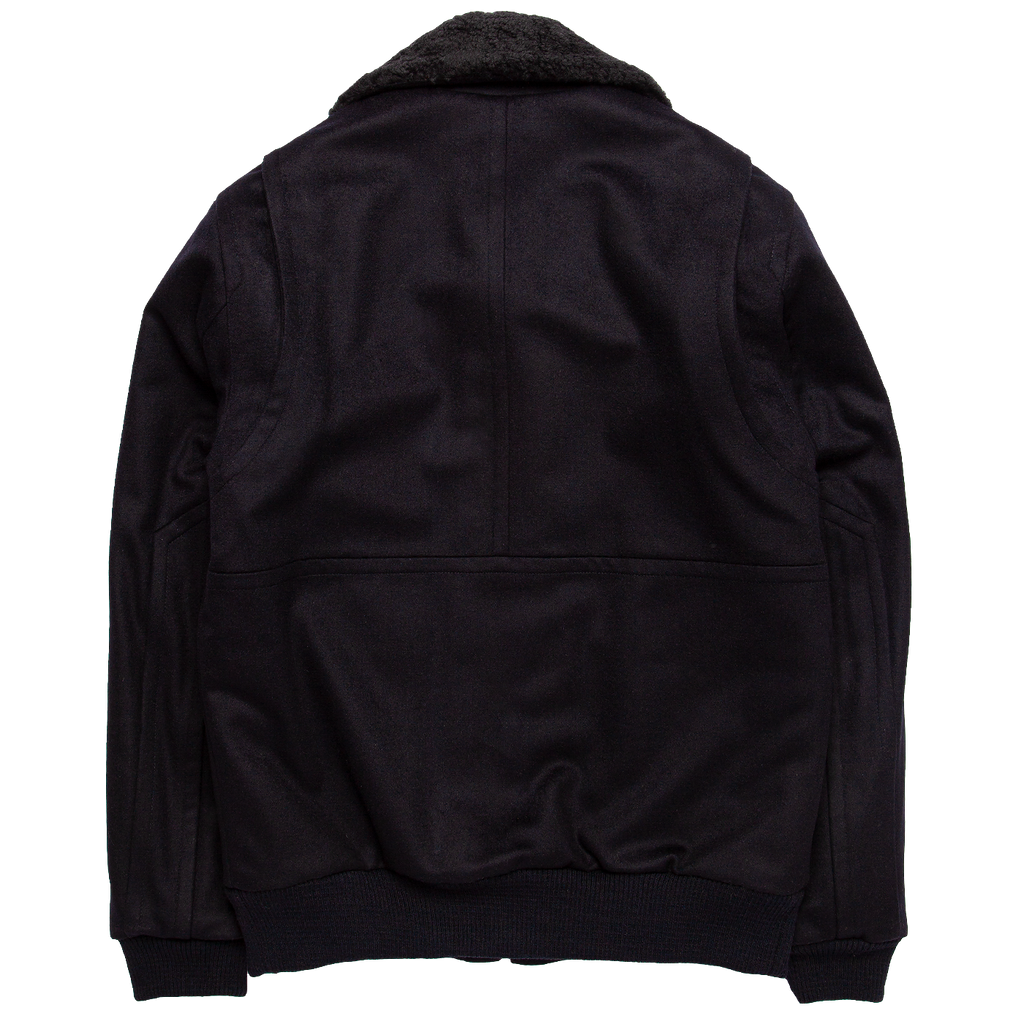 The Flight Jacket - Navy