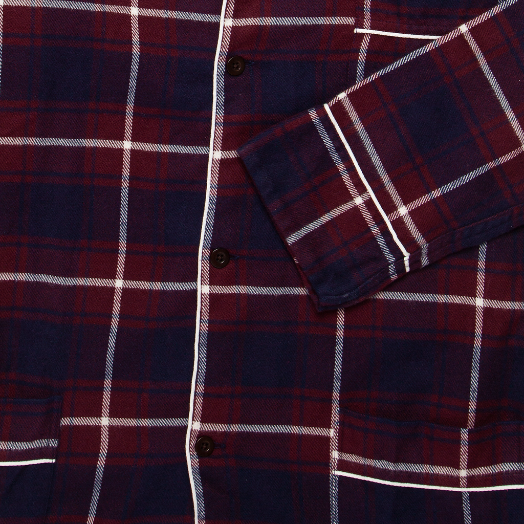 Pajama Flannel Shirt - Check