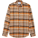80s Playground Flannel - Brown Check