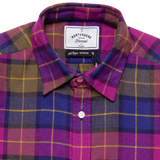 Check Flannel - Purple