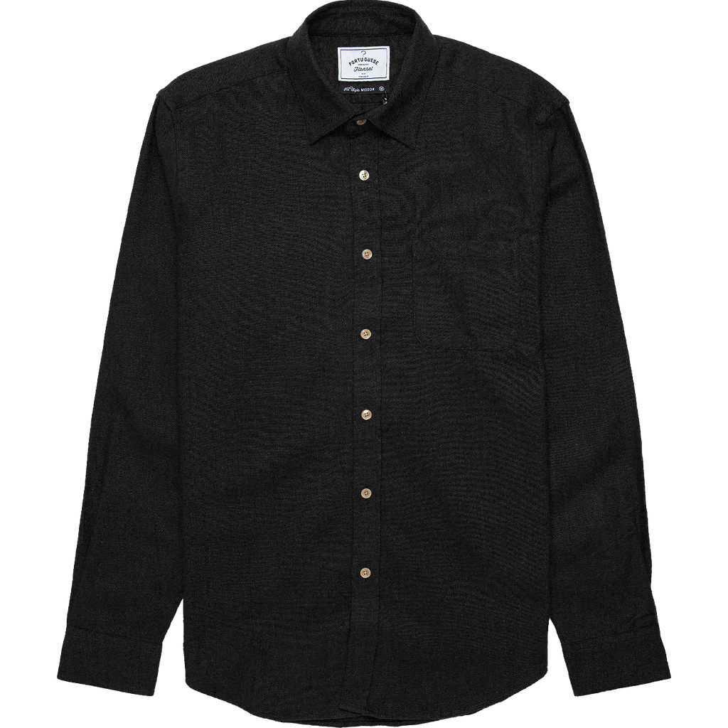 Teca Flannel - Black