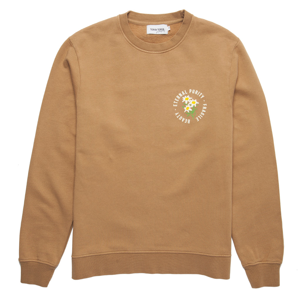 Bruce Eternal Sweatshirt - Camel