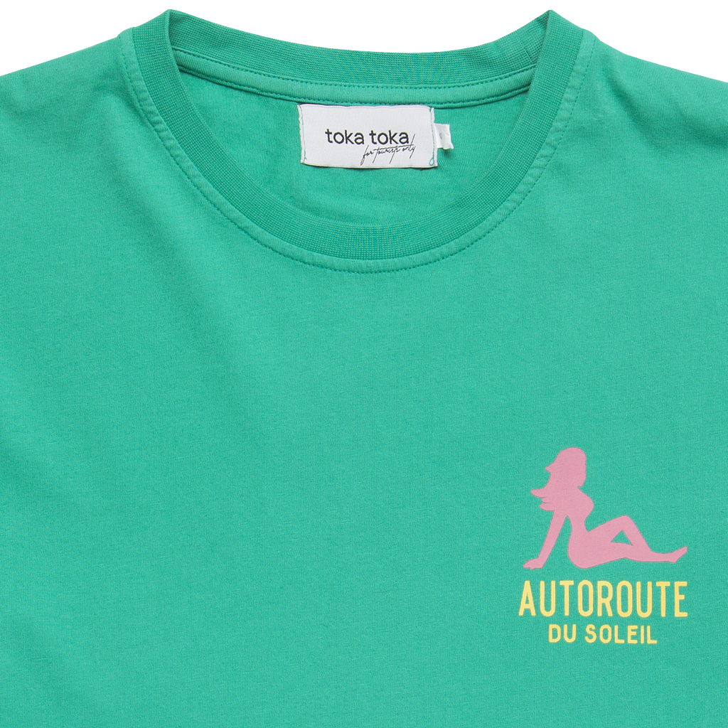 Tom Autoroute Tee - Mint
