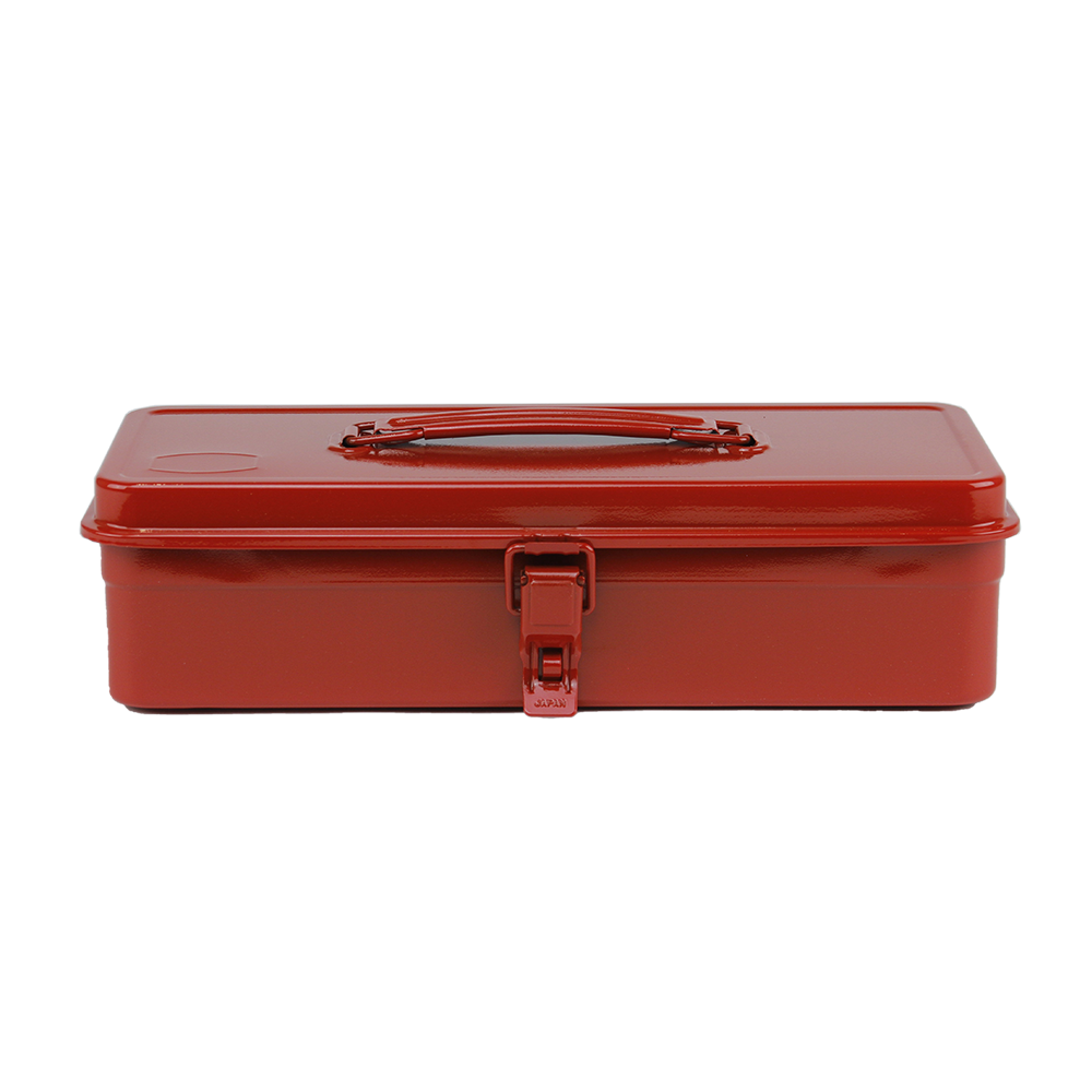 T-320 Flat Top Tool Box - Red