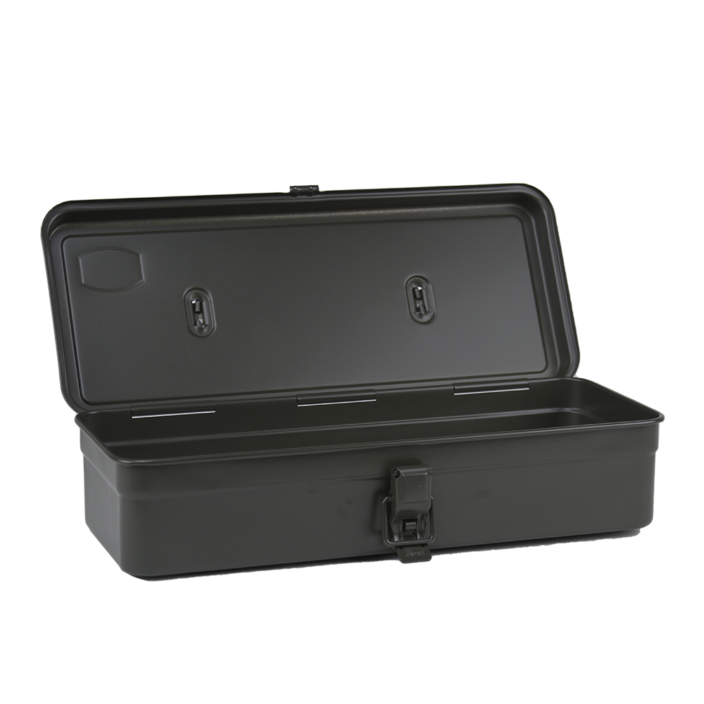 T-320 Flat Top Tool Box - Dark Green