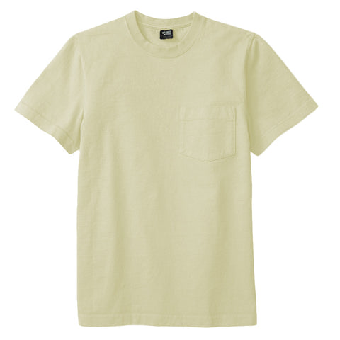 8 OZ Bison Pocket Tee - Aloe