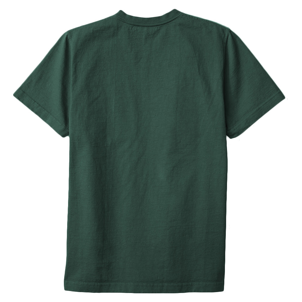 8 OZ Bison Pocket Tee - Green Gables