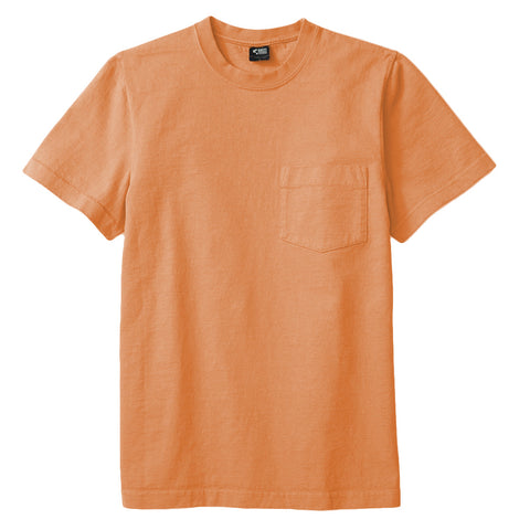 8 OZ Bison Pocket Tee - Sun Burn