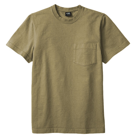 8 OZ Bison Pocket Tee - Trooper Green