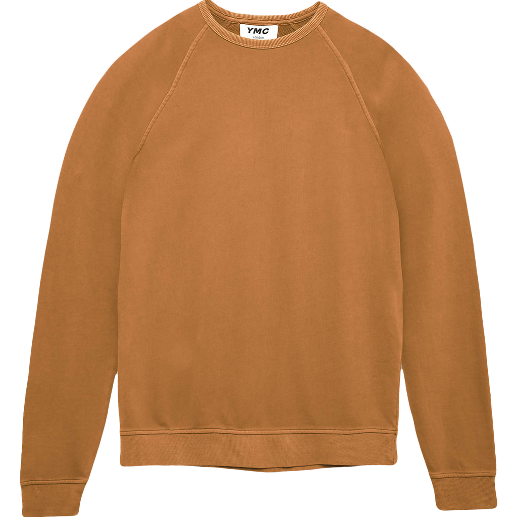 Schrank Raglan Crewneck Sweater - Yellow