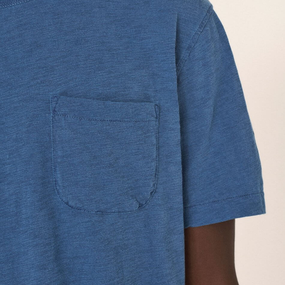 Wild Ones Pocket Tee - Blue