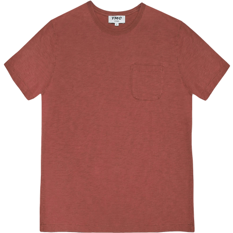 Wild Ones Pocket Tee - Red