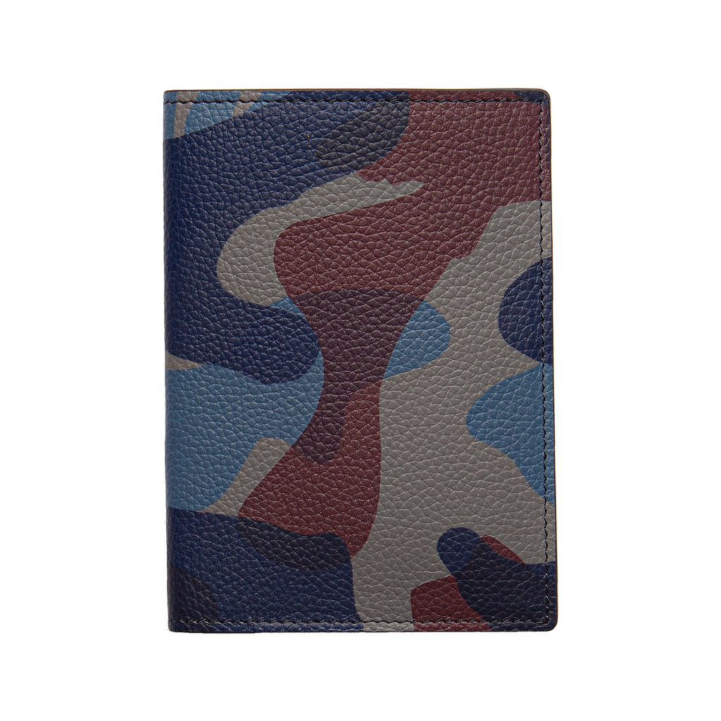Anderson's Passport Holder - Blue Camo