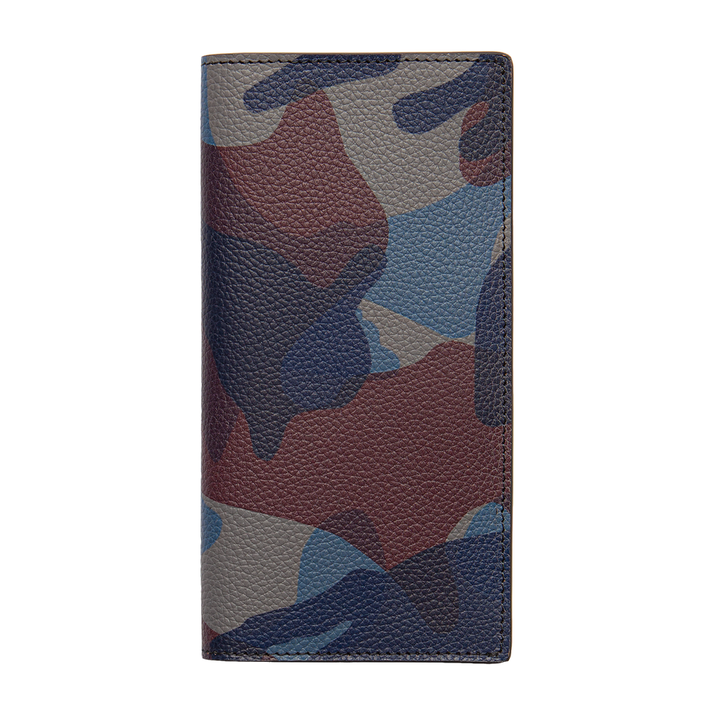 Anderson's Long Wallet - Blue Camo