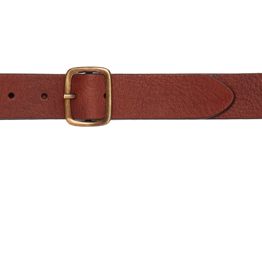 Heritage Leather Belt - Brown