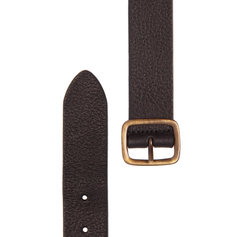 Heritage Leather Belt - Black