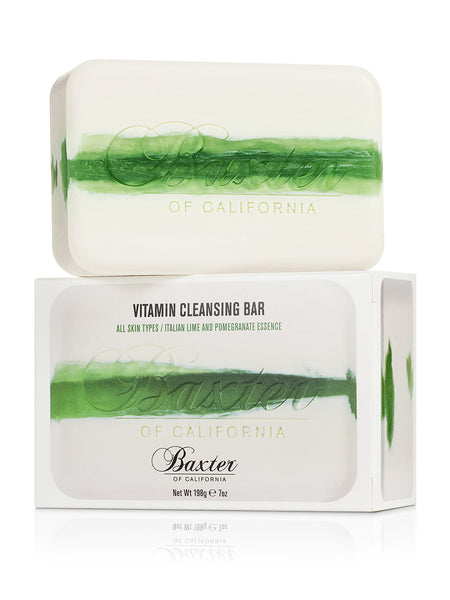 Vitamin Cleansing Soap Bar - Italian Lime / Pomegranate