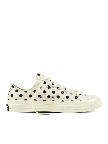 Chuck Taylor Low 1970's - Embroidered Polka Dot