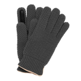 Knitted City Glove - Grey