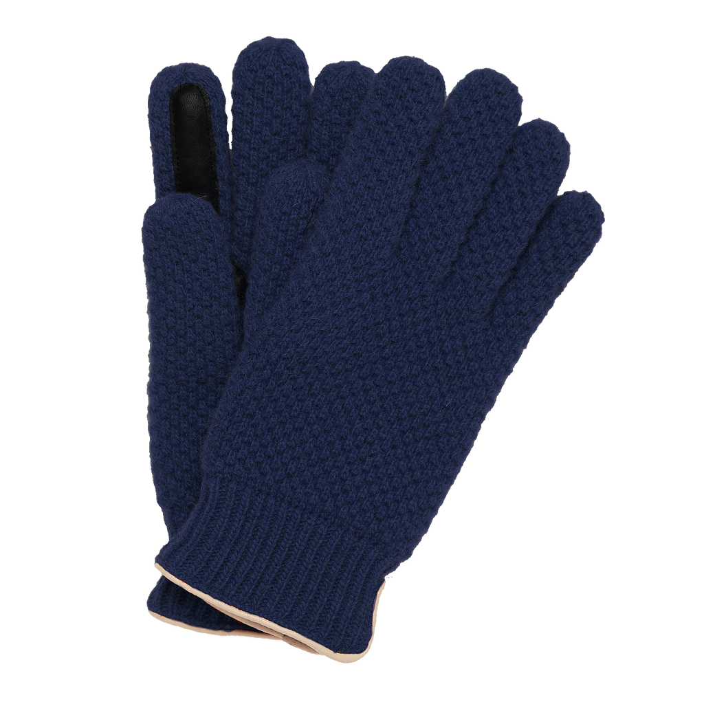 Knitted City Glove - Navy