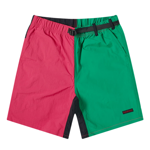 Shell Packable Shorts - Raspberry / Kelly
