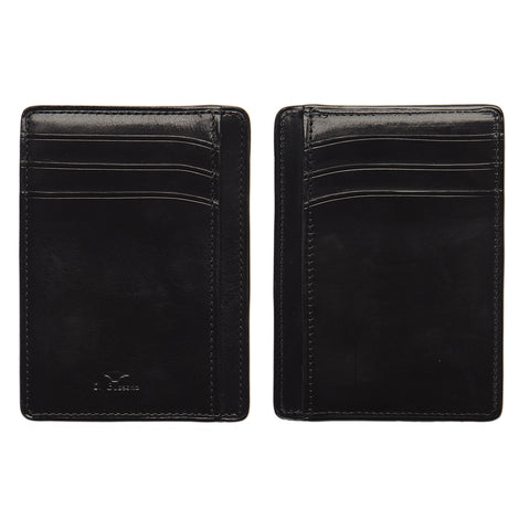 Double Sided Card & Document Case - Black