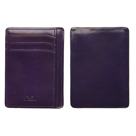 Card & Document Case - Eggplant
