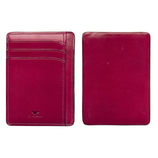 Card & Document Case - Fuchsia